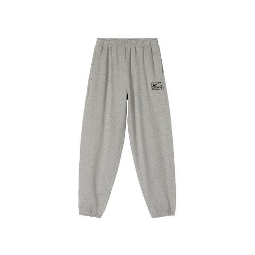 Nike x Stussy NRG BR Fleece Pant Gray