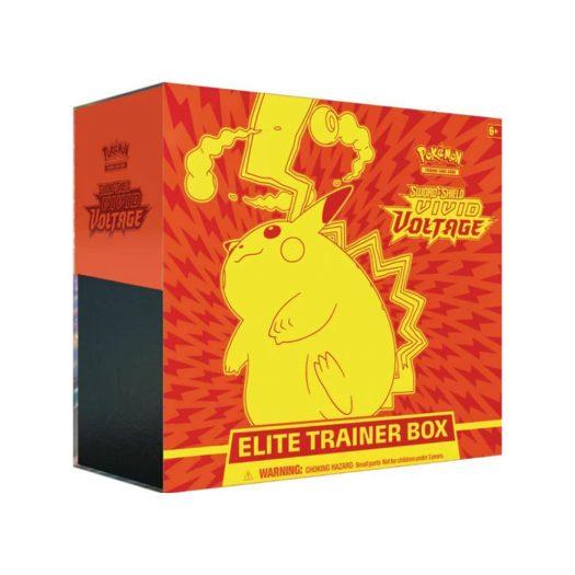 2020 Pokemon TCG Sword & Shield Vivid Voltage Elite Trainer Box