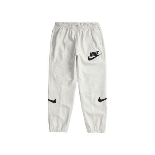 Supreme Nike Leather Warm Up Pant White