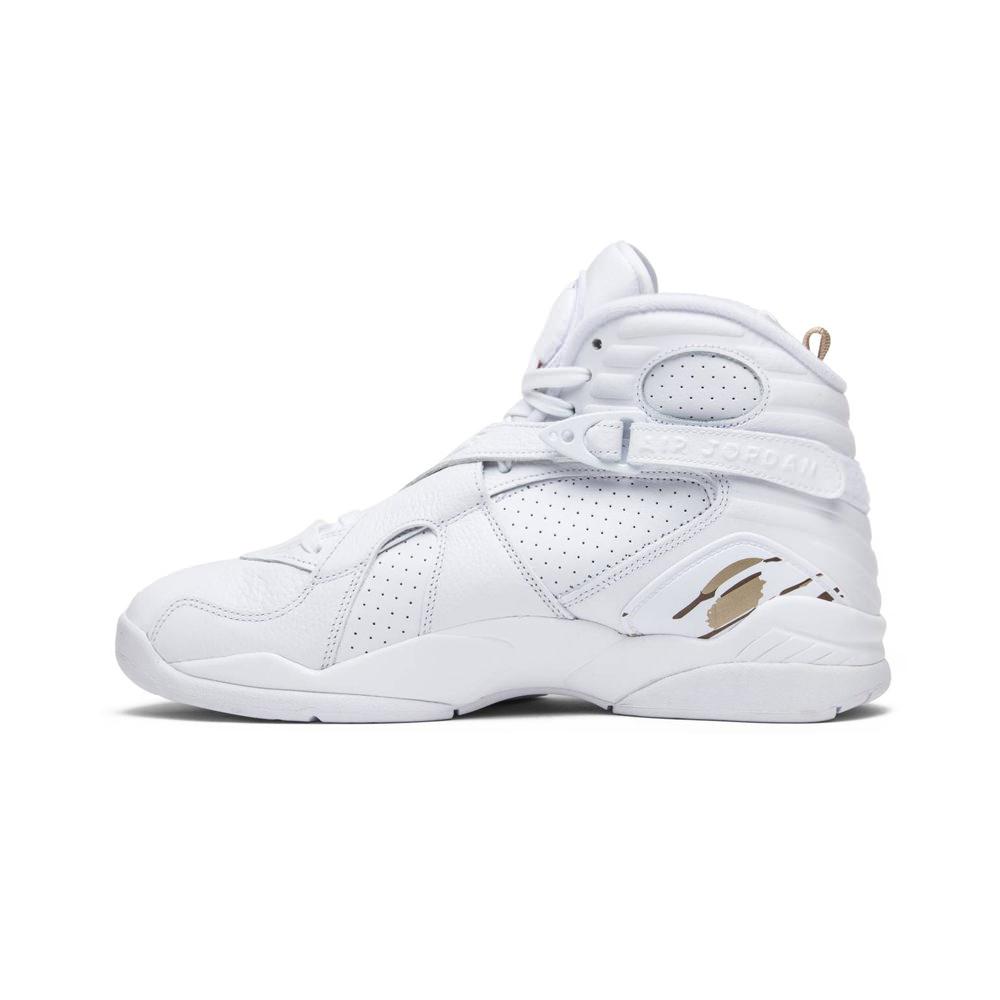 Jordan 8 Retro OVO White