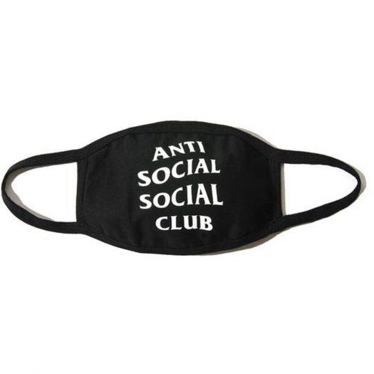Anti Social Social Club Medical Mask Black
