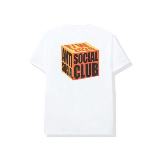 Anti Social Social Club I Wish I Was Wrong Tee White