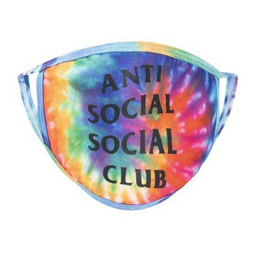Anti Social Social Club Sugar Coat Mask Tie Dye