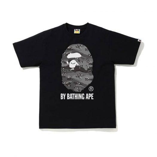 Bape Desert Camo By Bathing Ape Relaxed Tee Black/black