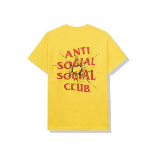 Anti Social Social Club Theories Tee Yellow