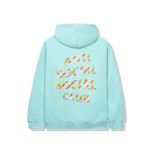 Anti Social Social Club Sweeter Then You Think Hoodie Mint