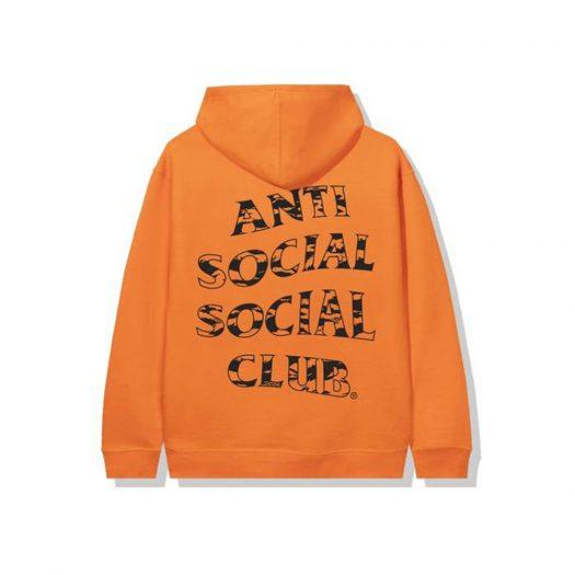 Anti Social Social Club Country Hoodie Orange