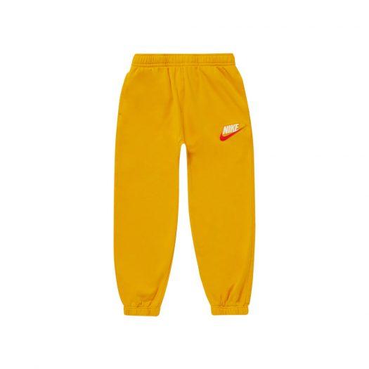Supreme Nike Sweatpant Mustard