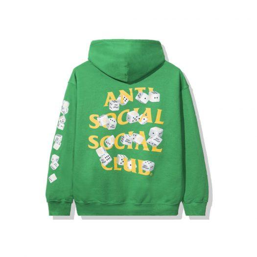 Anti Social Social Club Take Me Home Hoodie Green