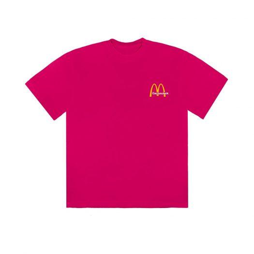 Travis Scott x McDonald's Vintage Action Figure II T-Shirt Pink