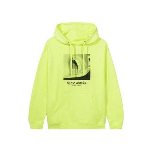 Anti Social Social Club Open Minded Hoodie Neon Green