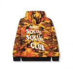 Anti Social Social Club True Colors Orange Hoodie Camo
