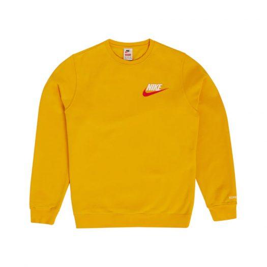 Supreme Nike Crewneck Mustard