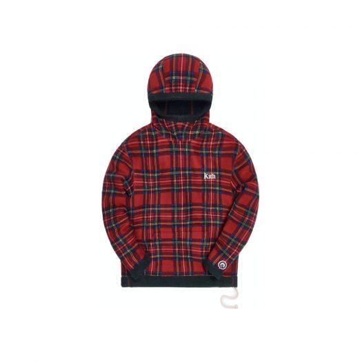 Kith Adrian Sherpa Hoodie Red/Multi