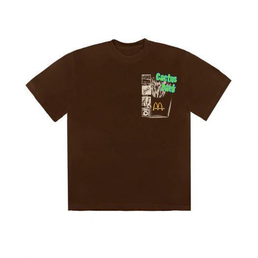 Travis Scott x McDonald's Cactus Pack Vintage Promo T-Shirt Brown