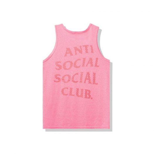 Anti Social Social Club Goodbye Summer Tank Tank Pink