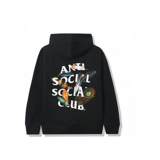 Anti Social Social Club Birdbath Hoodie Black