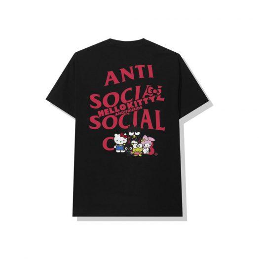 Anti Social Social Club x Hello Kitty and Friends Tee Black