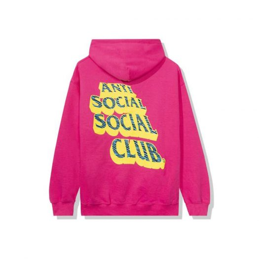Anti Social Social Club Costumes Hoodie Hot Pink