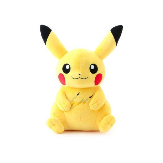 Pokemon x Thunderbolt Project by Fragment Pikachu Plush Yellow