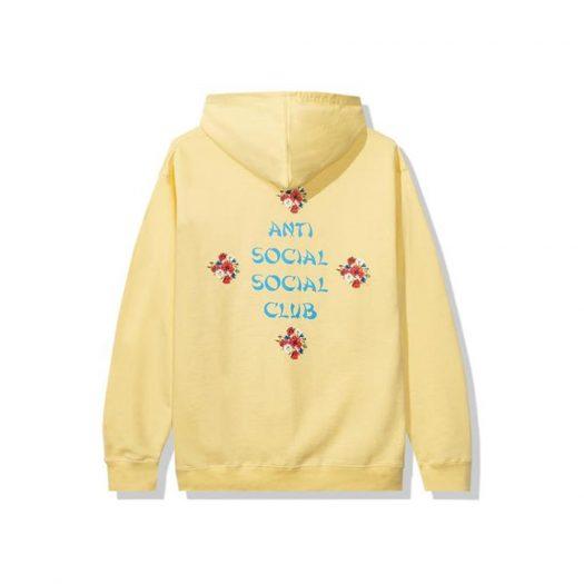 Anti Social Social Club 2 Much of Heaven Hoodie Yellow