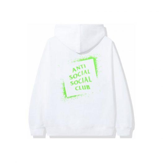 Anti Social Social Club Toy Hoodie White