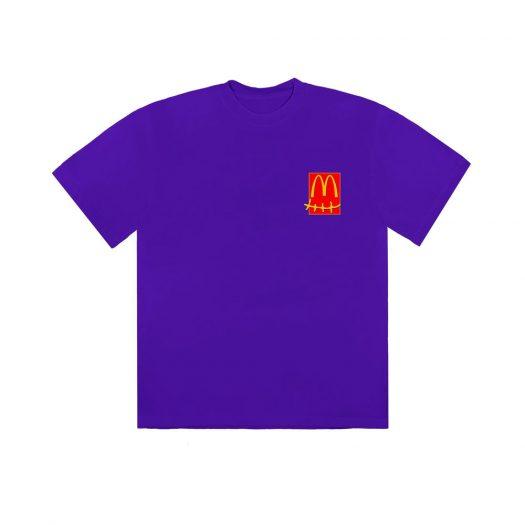 Travis Scott x McDonald's Action Figure Series II T-Shirt Purple