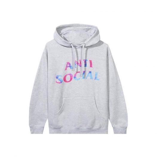 Anti Social Social Club Funky Forest Hoodie Grey