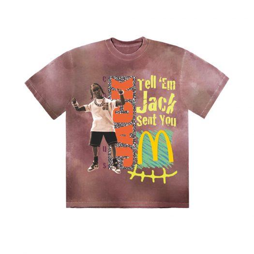 Travis Scott x McDonald's Jack Smile II T-Shirt Multi