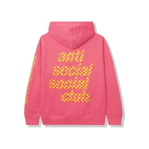 Anti Social Social Club Food Court Hoodie Pink