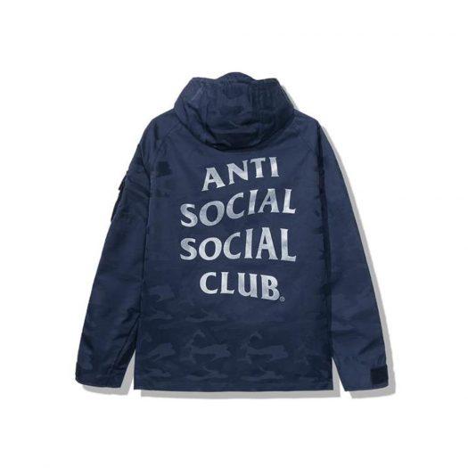 Anti Social Social Club 5th Dimension Alpha Jacket Blue Camo