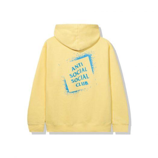 Anti Social Social Club Toy Hoodie Yellow