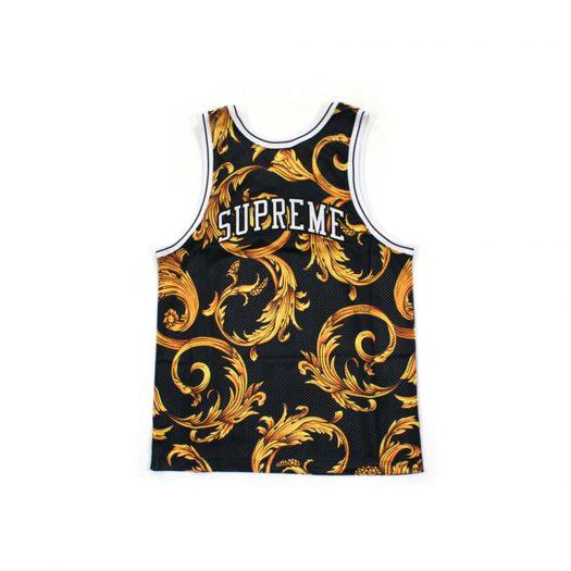 Supreme Nike Basketball Jersey Black