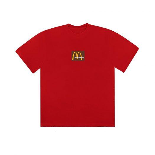 Travis Scott x McDonald's Sesame Inv III T-Shirt Red
