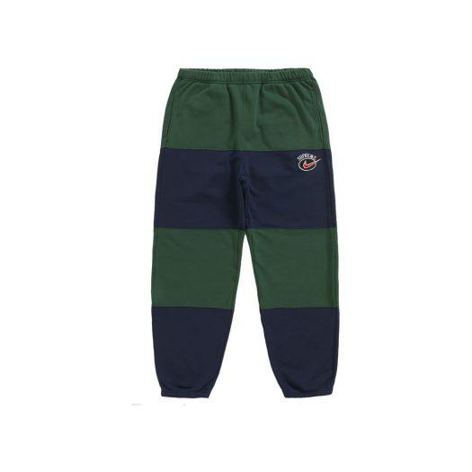 Supreme Nike Stripe Sweatpant Navy