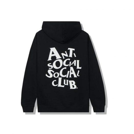 Anti Social Social Club Complicated Hoodie Black