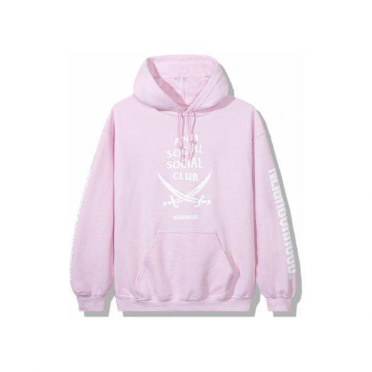 Anti Social Social Club x Neighborhood 6IX Pink Hoodie Hoodie Pink