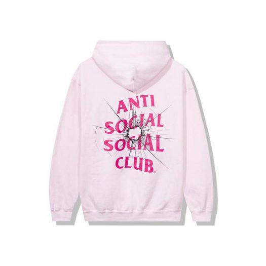 Anti Social Social Club Theories Hoodie Pink