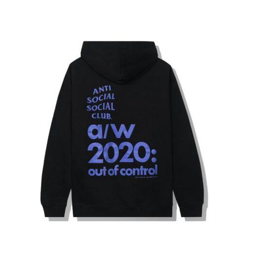 Anti Social Social Club 2020 Hoodie Black