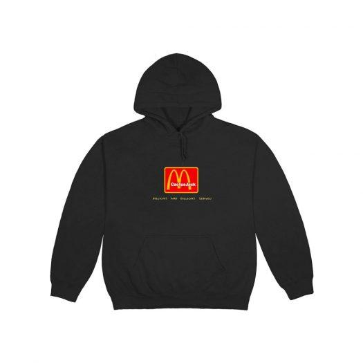Travis Scott x McDonald's Billions Served Hoodie Washed Black