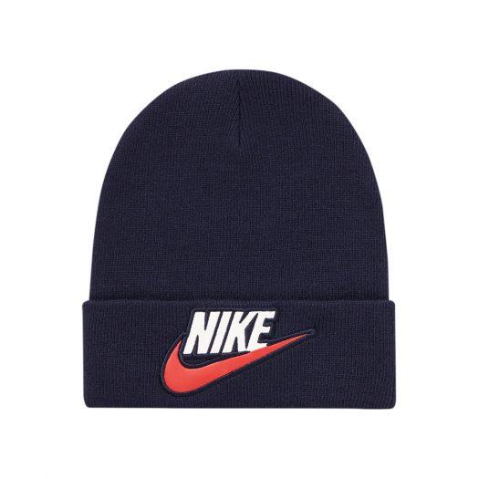 Supreme Nike Beanie Navy