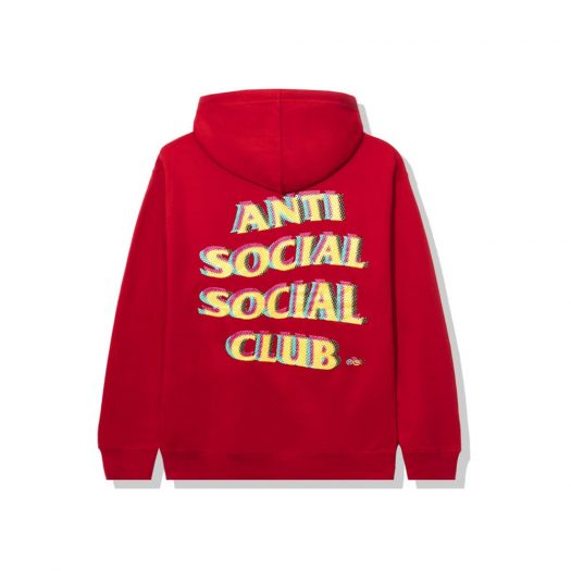 Anti Social Social Club Stir Crazy Hoodie Red