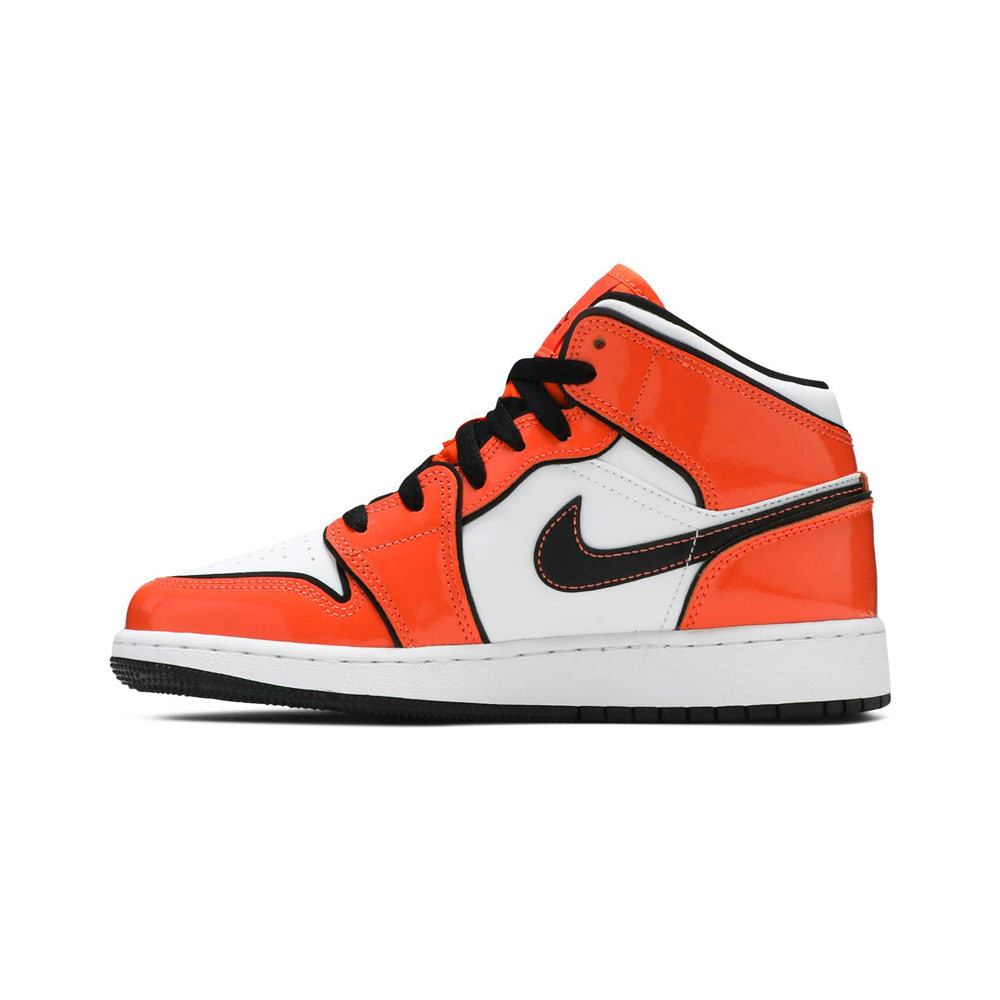 Jordan 1 Mid Turf Orange (GS)