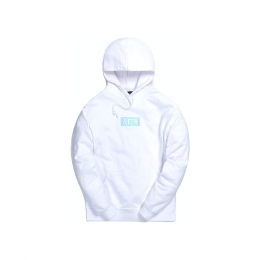 Kith x The Simpsons Cast Of Characters Hoodie White