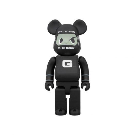 Bearbrick x G-Shock G-ShockMan 400% Black