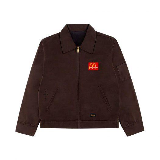 Travis Scott x McDonald's Billions Served Work Jacket Brown