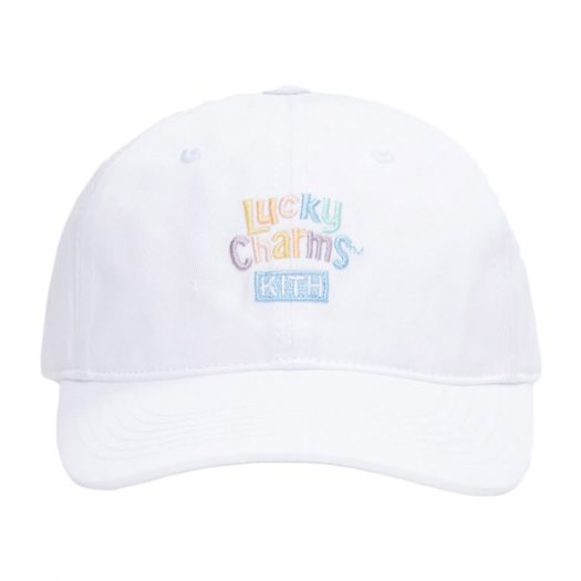 Kith for Lucky Charms Logo Cap White