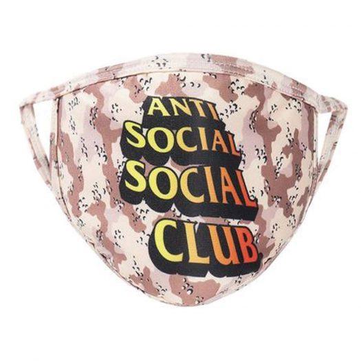 Anti Social Social Club Chocolate Chip Mask Chocolate Chip Camo