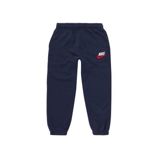Supreme Nike Sweatpant Navy