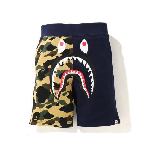 Bape Shark Sweat Shorts (Ss21) Navy